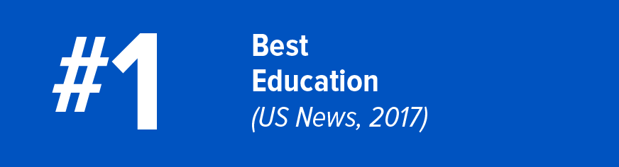 #1 Best in Education